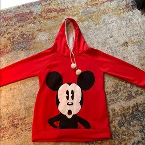 Tops - Mickey Mouse Red Sweatshirt